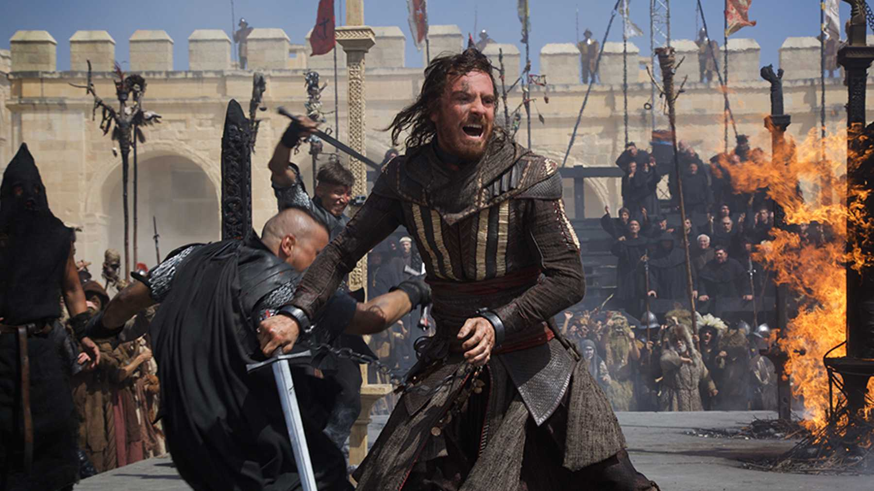 Exclusive: new look at Michael Fassbender in Assassin's