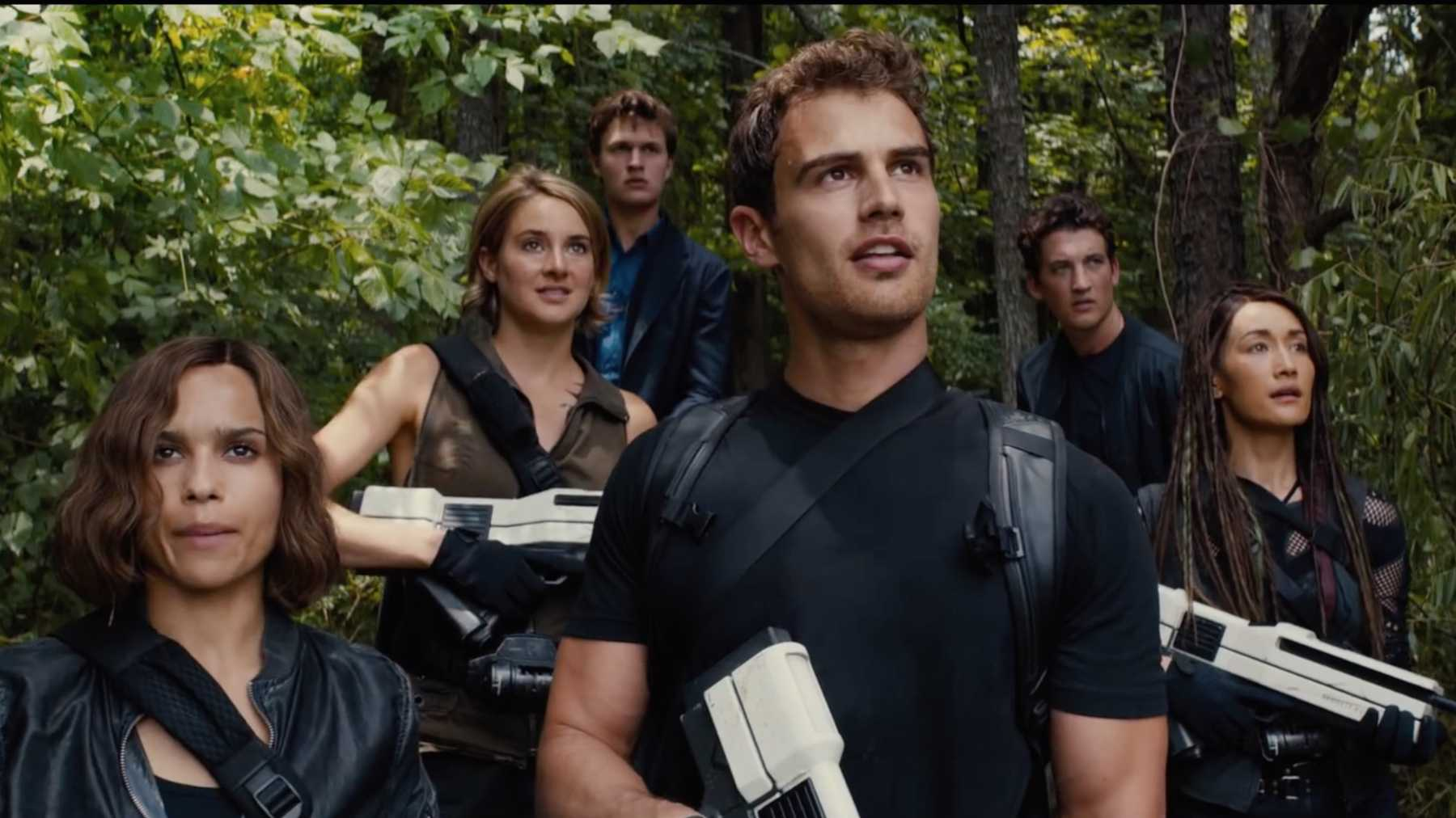 New trailer for The Divergent Series: Allegiant Online