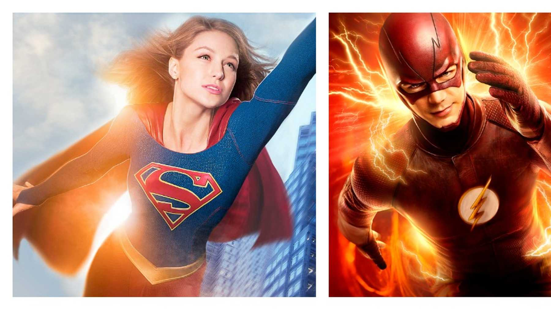 Supergirl meets The Flash in March   Movies   Empire