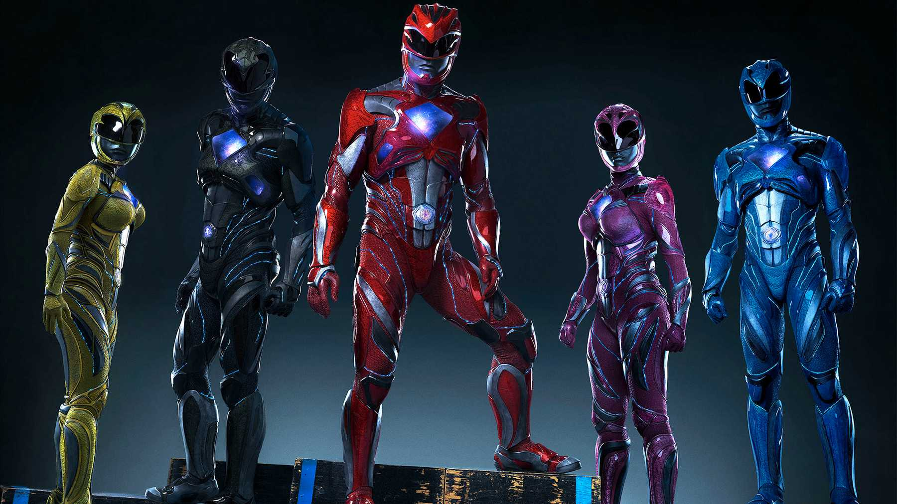 Alpha Blue Movie power rangers' alpha 5 gets a new look for the latest movie