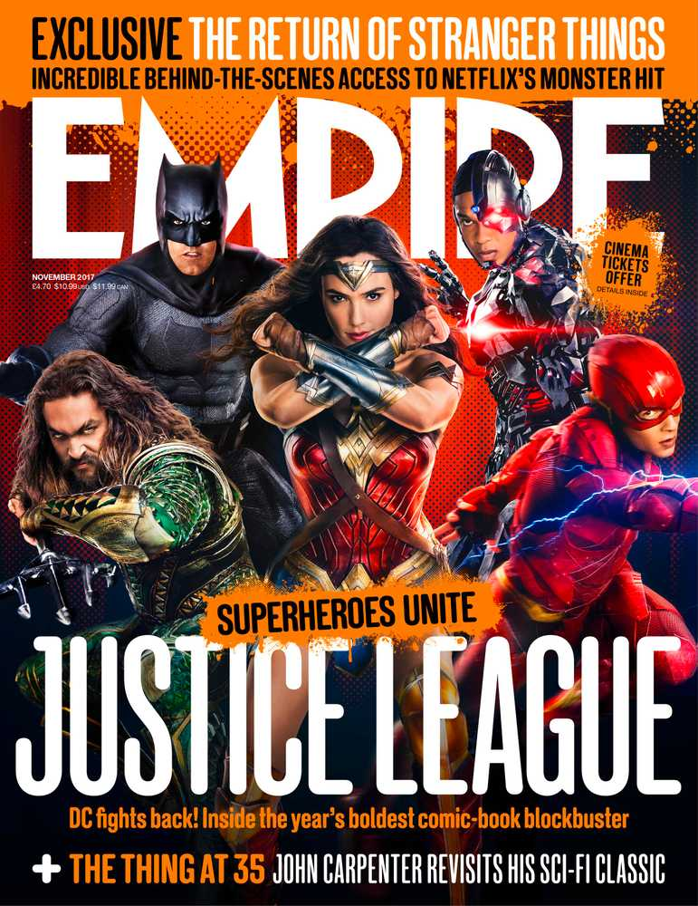 Empire Issue Preview: Justice League, Stranger Things