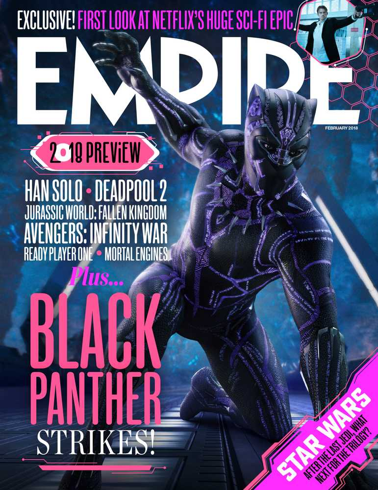 Empire Issue Preview: Black Panther, 2018 Preview, Meryl