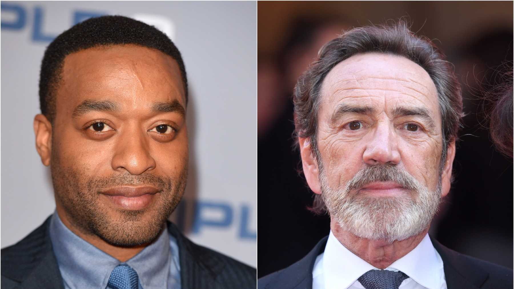 Chiwetel Ejiofor And Robert Lindsey On For Maleficent Ii