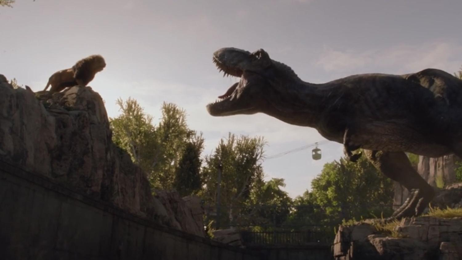 Pictures of new dinosaurs in jurassic world movie