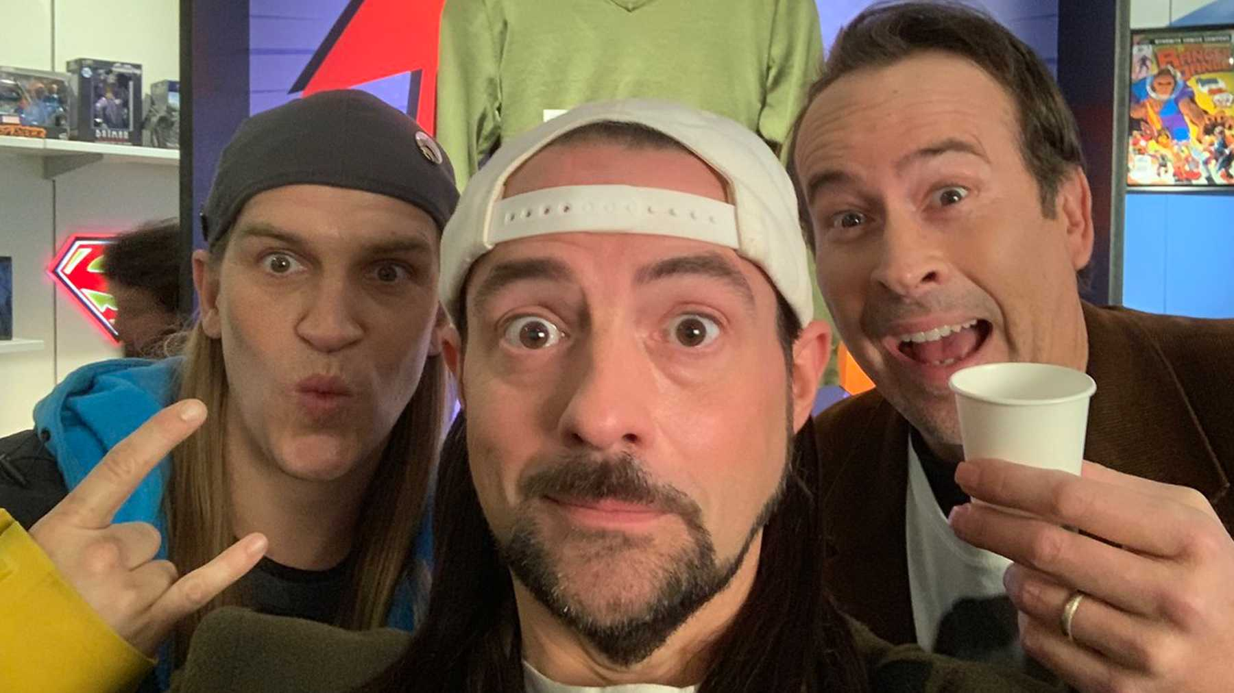 Jay And Silent Bob Reboot Begins Shoot As Kevin Smith Shares Set Photo |  Movies | Empire