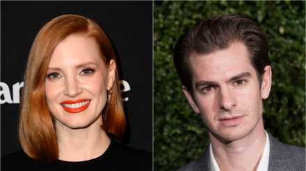 Jessica Chastain And Andrew Garfield Starring In The Eyes Of Tammy Faye Movies Empire