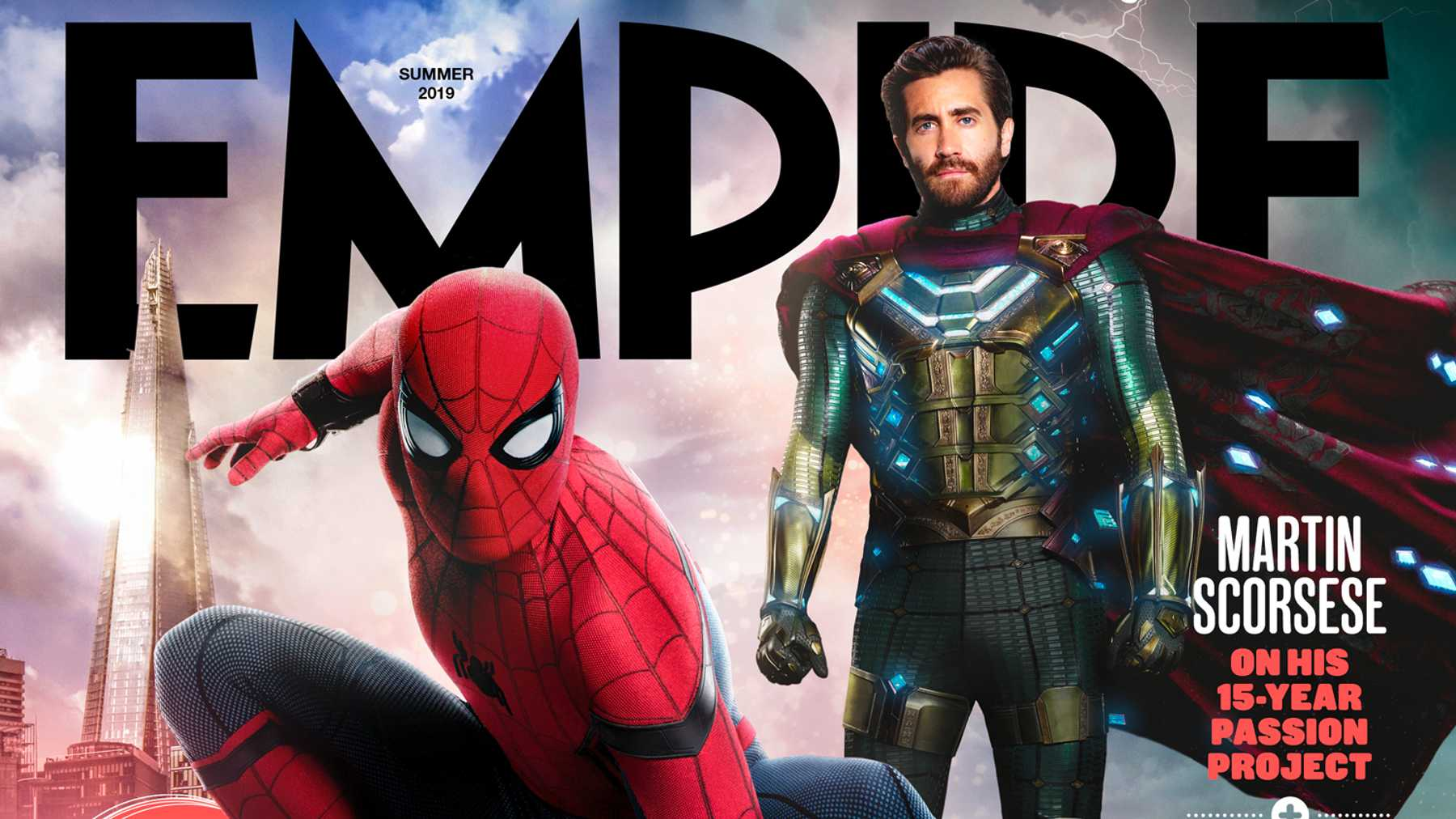 Empire's Spider-Man: Far From Home Newsstand Cover Revealed