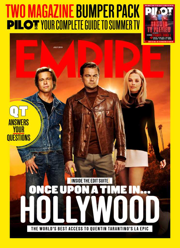 Empire – July 2019 newsstand cover - once upon a time in hollywood