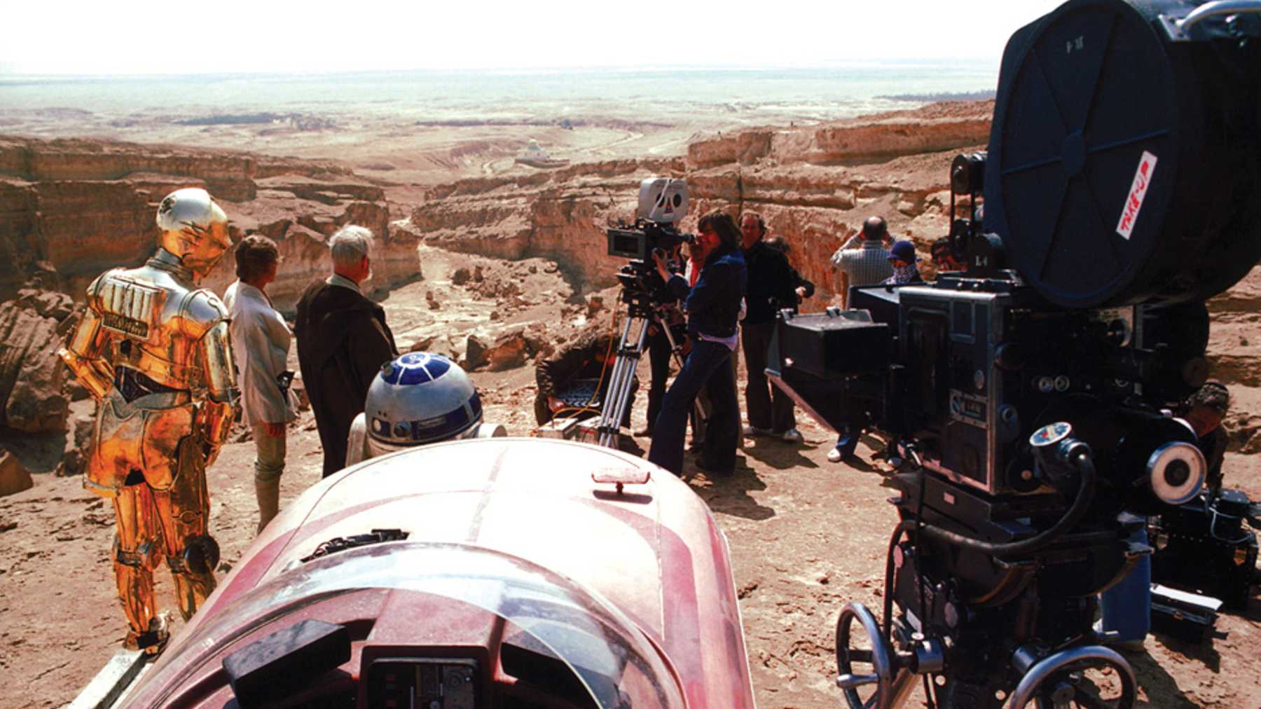 Star Wars 71 Awesome Behind The Scenes Photos Movies Empire