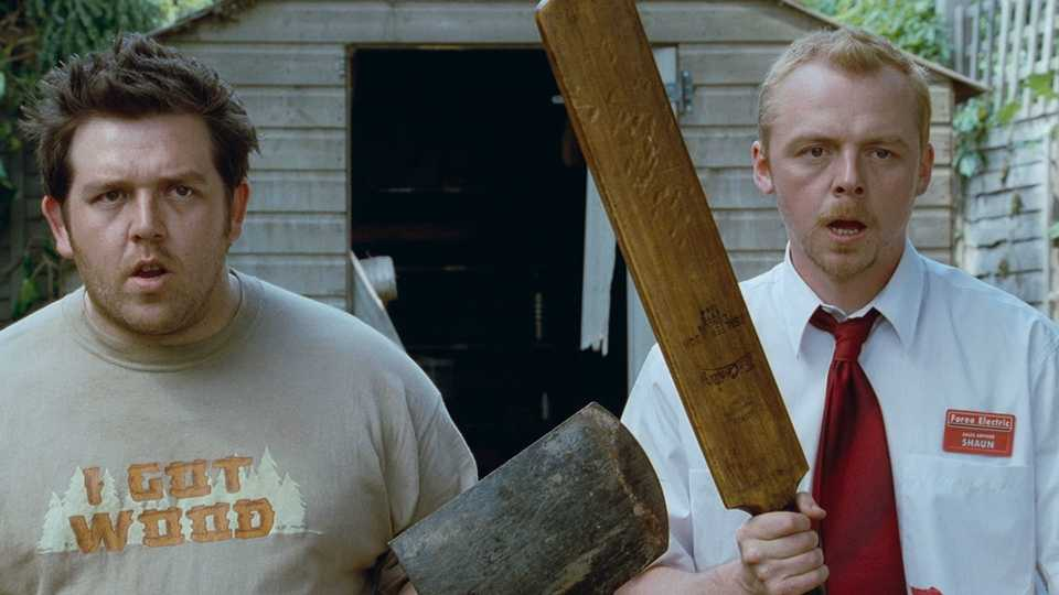 Simon Pegg And Nick Frost Give Shaun Of The Dead Scene Coronavirus Update