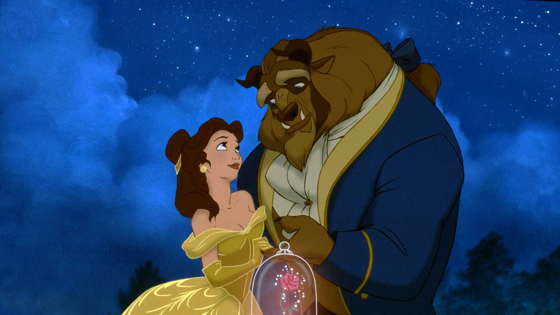 beauty and the beast movie online free 1991