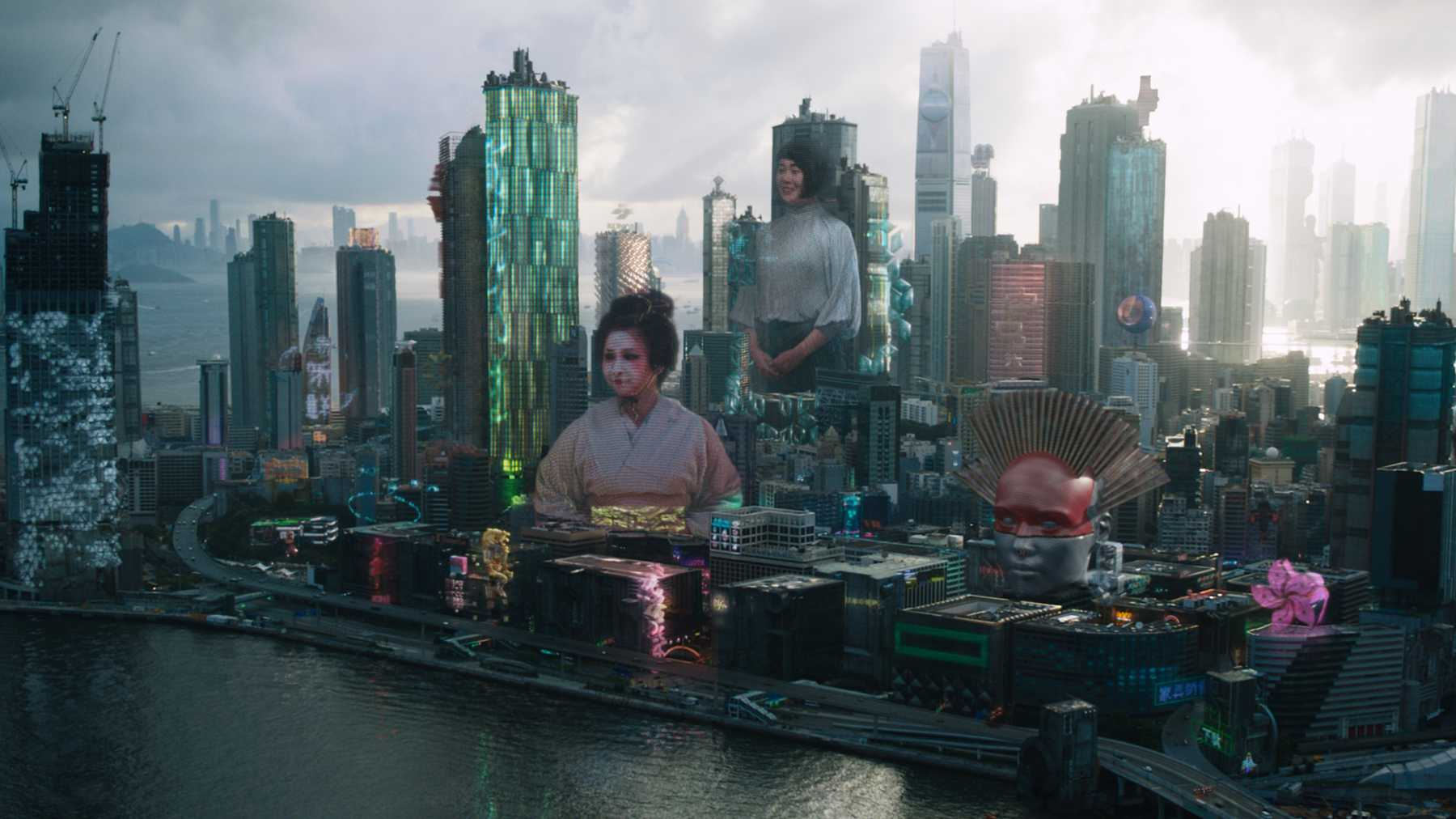 Ghost In The Shell VFX Breakdown | Movies | Empire