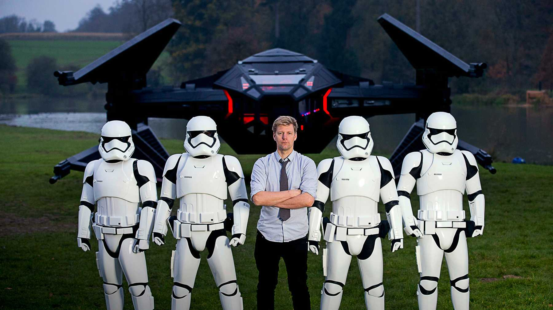 PROMOTION: How eBay And Colin Furze Brought A TIE Silencer To Life