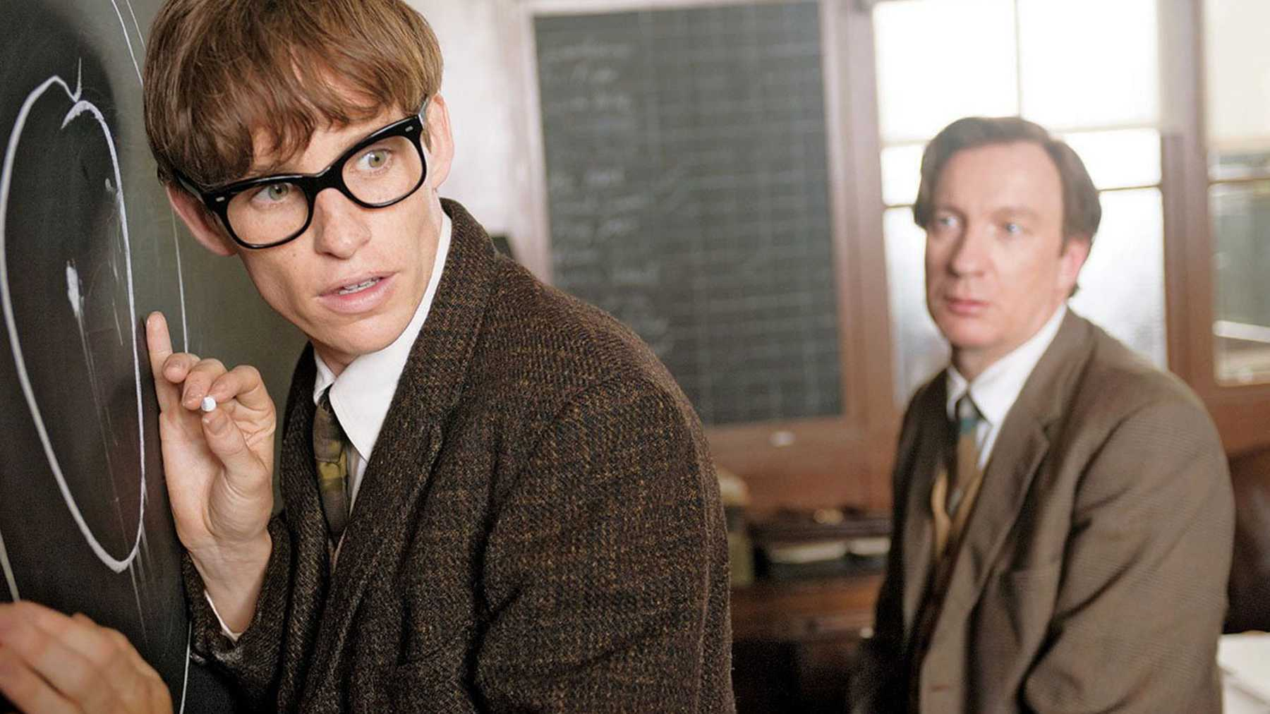 Eddie Redmayne on Meeting Stephen Hawking for The Theory of ...