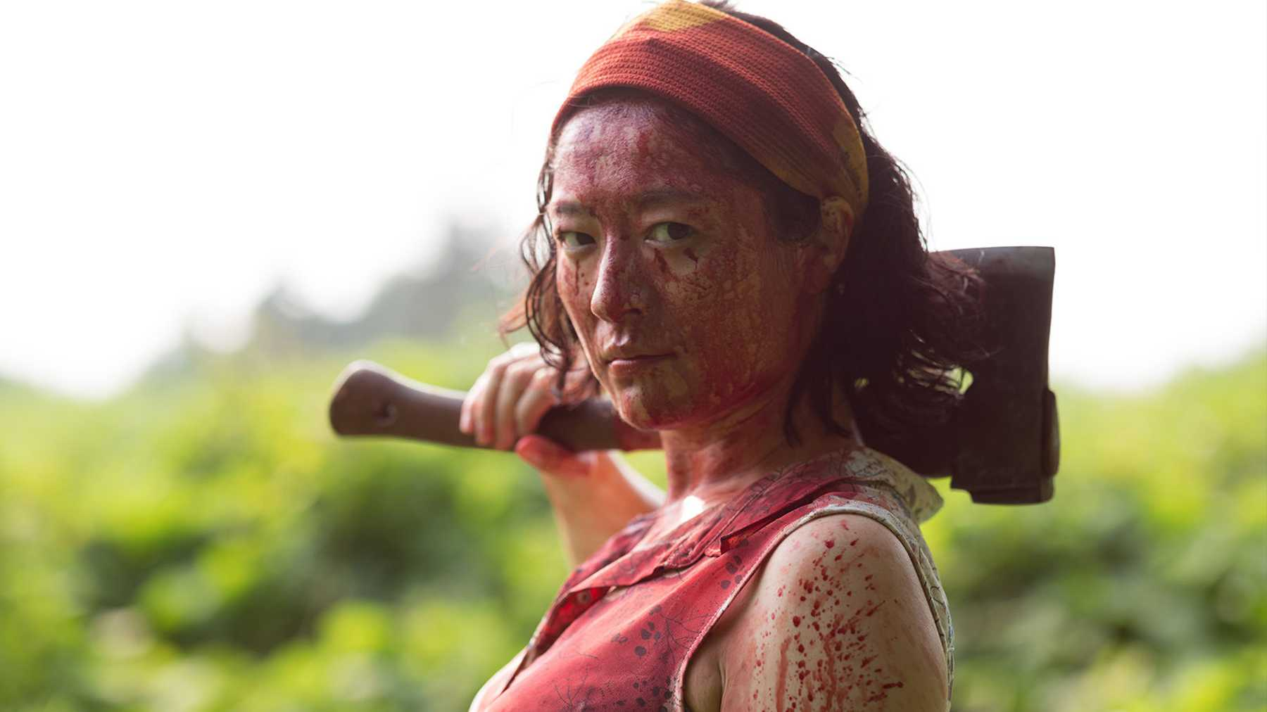 Harumi (Harumi Shuhama) is a standout of a brilliant ensemble cast in One Cut of the Dead.