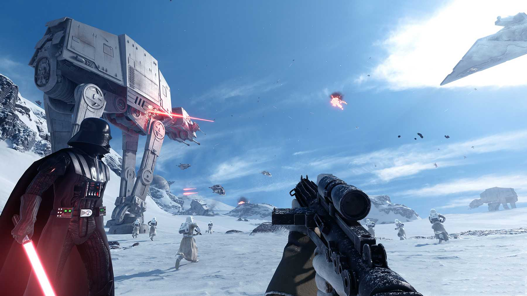 Star Wars Battlefront 2015 Game Review Gaming Empire