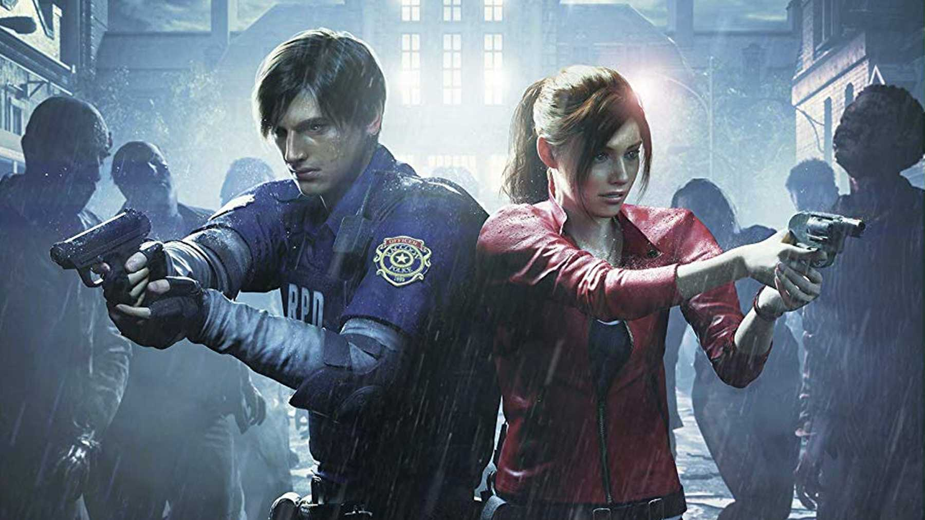 resident evil 2 claire and leon relationship
