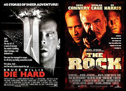 Licensed The Rock Movie Poster 27 X 40 Nicolas Cage Sean Connery Usa A New