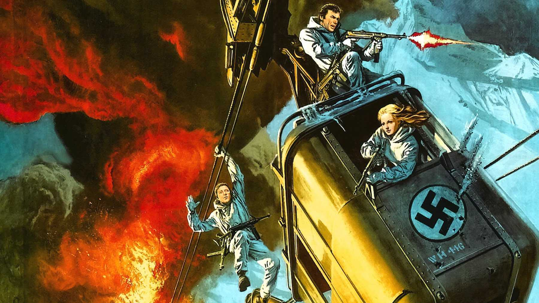 War Movie : Where Eagles Dare (1968)