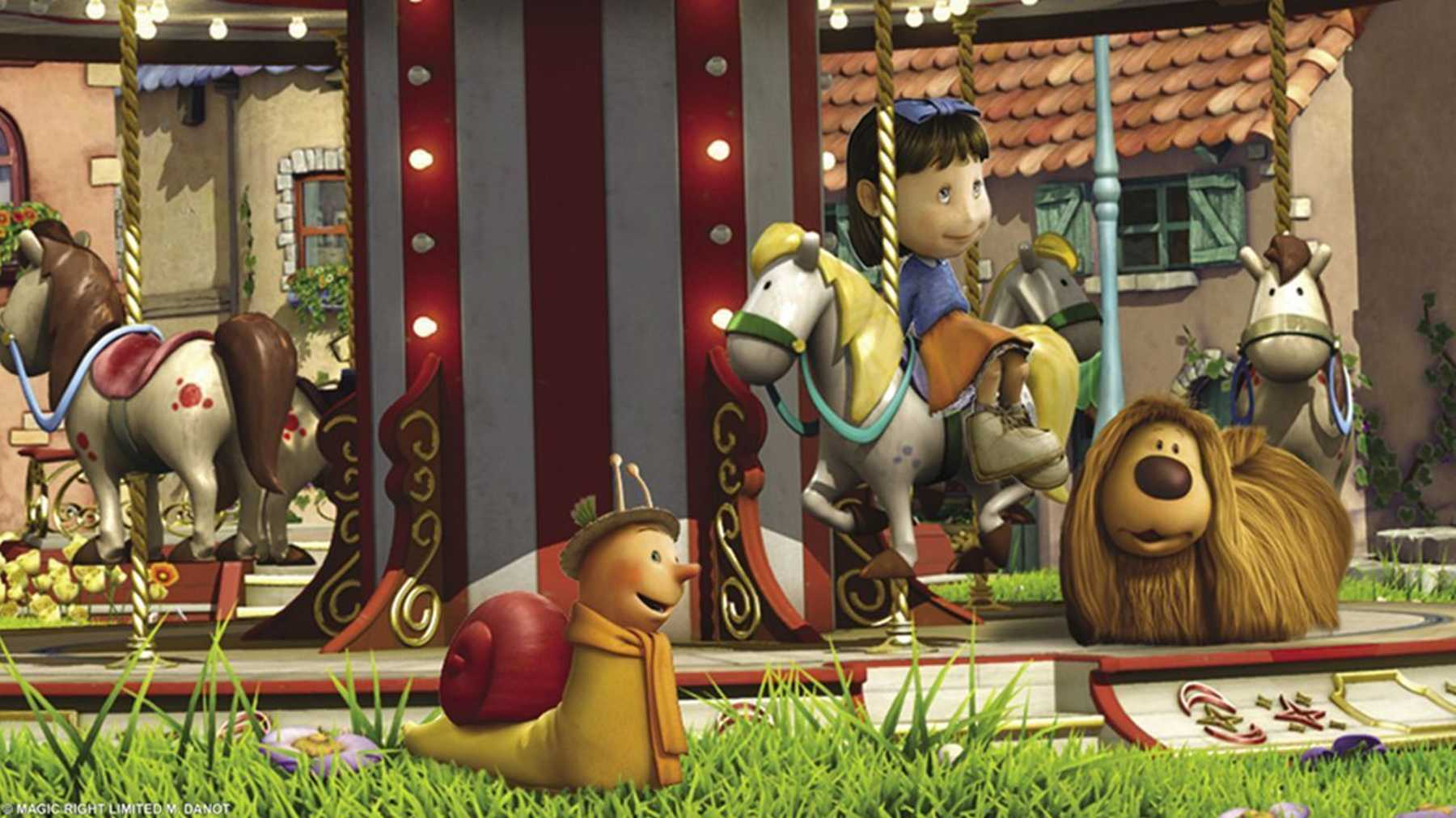 Magic Roundabout The Review Movie Empire The Magic Roundabout
