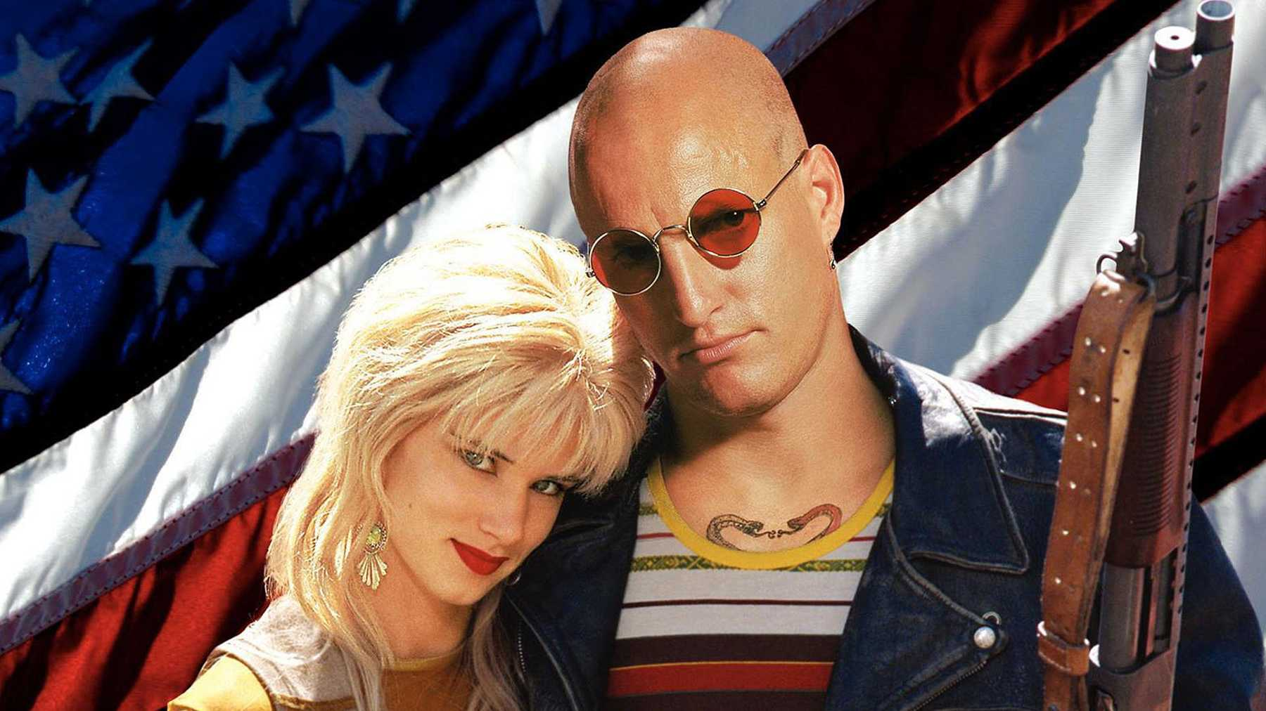 Mickey (Woody Harrelson) and Mallory (Juliette Lewis) Knox became the de factor punk rock Bonnie and Clyde in Natural Born Killers (1995).
