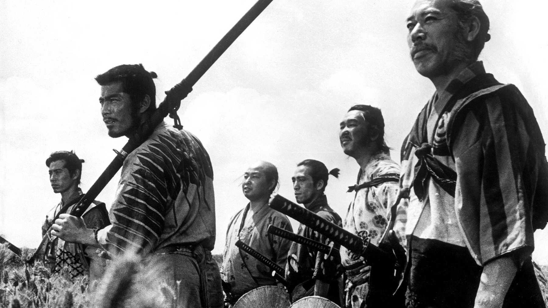 Image result for seven samurai movie