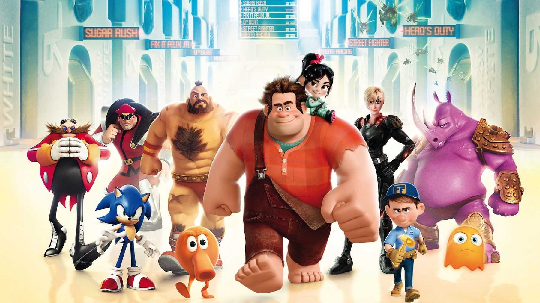 Anon's Pie Adventure 10 video game cameos we want to see in wreck-it ralph 2