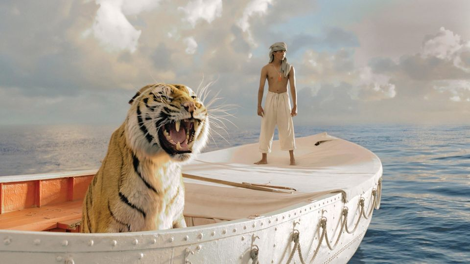 The 3D effects of Life of Pi, from the realistic tiger to the whale, are mesmerizing, marking as the landmark of visual mastery.