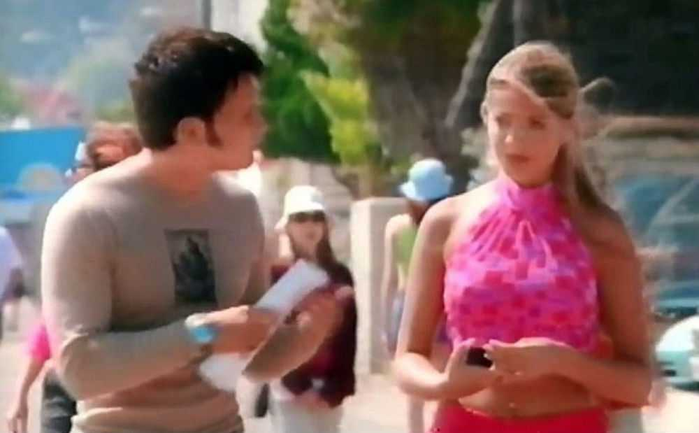 Holly Willoughby was in S Club 7's film Artistic Differences and it