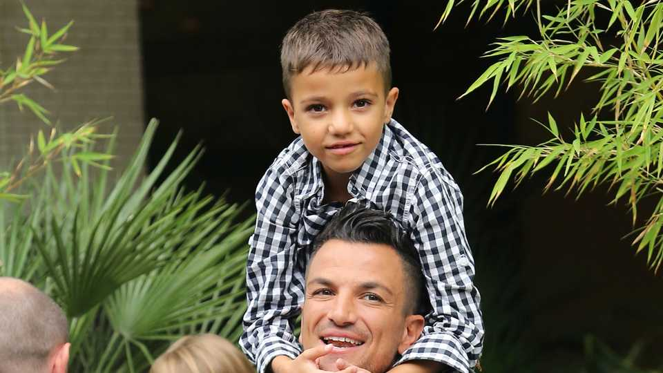Peter Andre: 'My son will NEVER become a pop star' | Closer