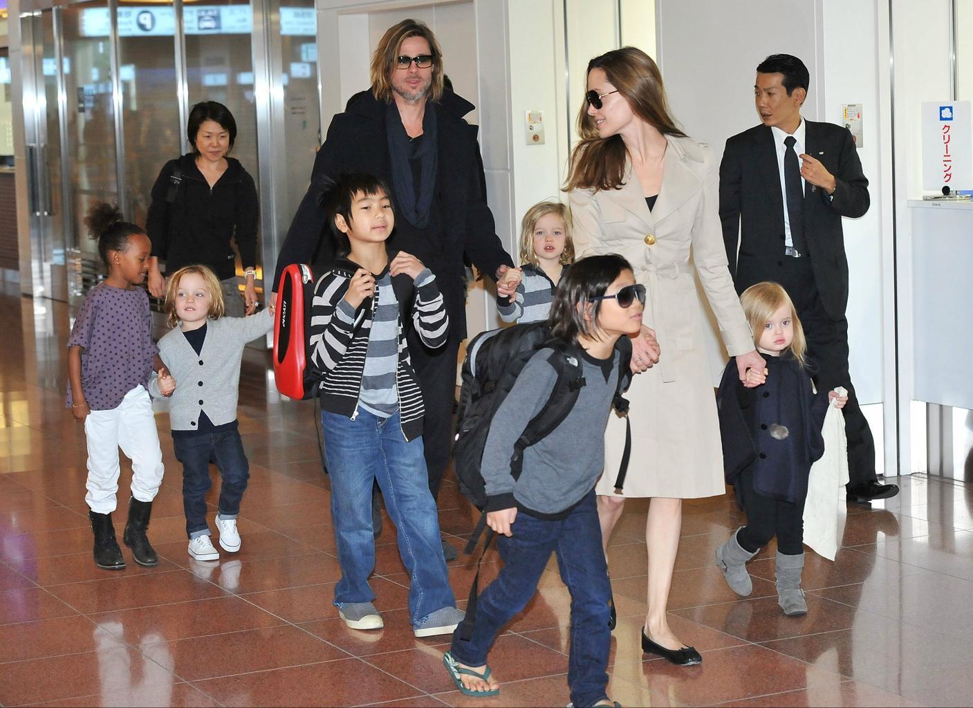 Angelina Jolie and Brad Pitt divorce: What does this mean for their children?    Closer