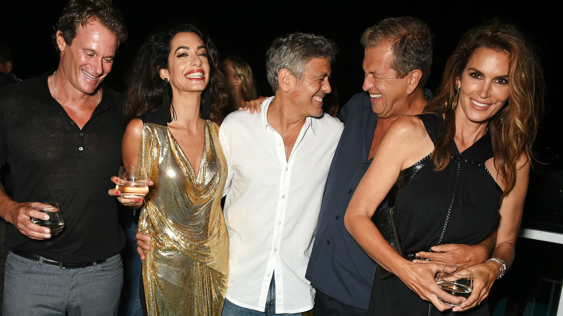 Cindy Crawford Responds To Amal Clooney's Baby News In The
