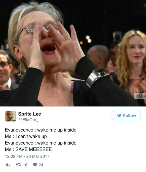This Photo Of Meryl Streep Singing Has Become A Hilarious