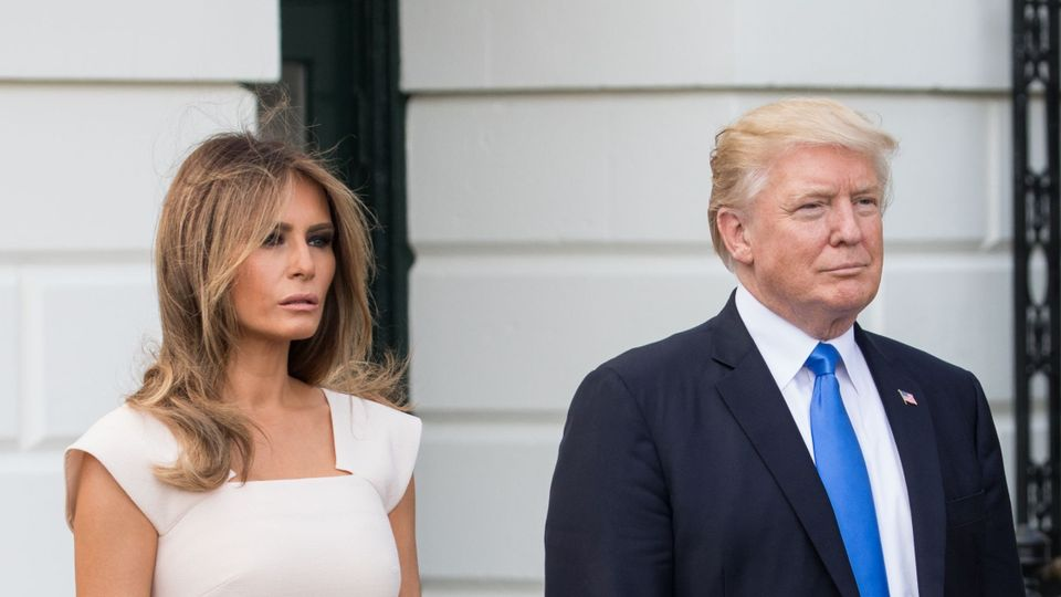 Melania Trump S Vague Response To Unhappy Marriage Claims Grazia