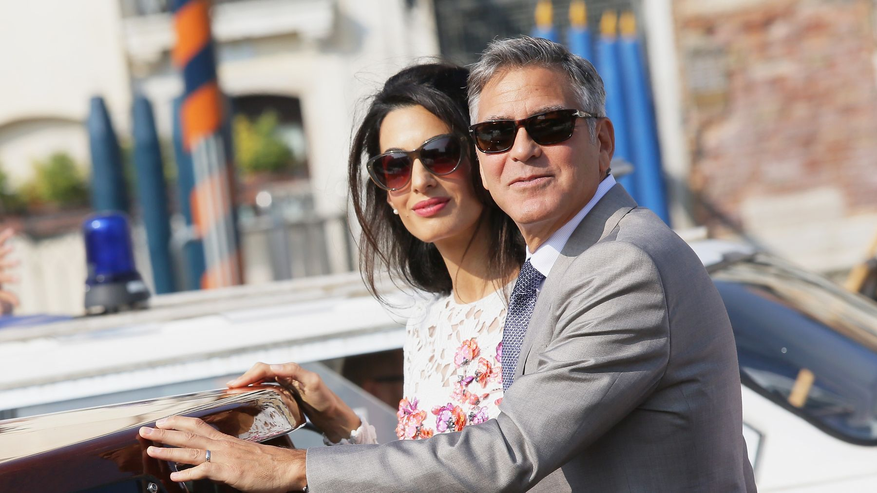 George And Amal Clooney's Twins Are Already Having The Best