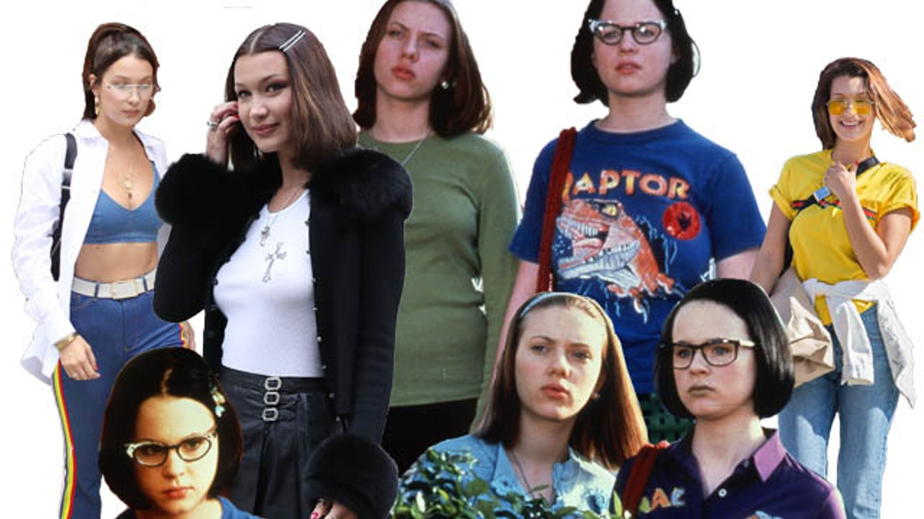 879b3f8c6c94 Bella Hadid Is Channelling Enid From 'Ghost World' | Grazia
