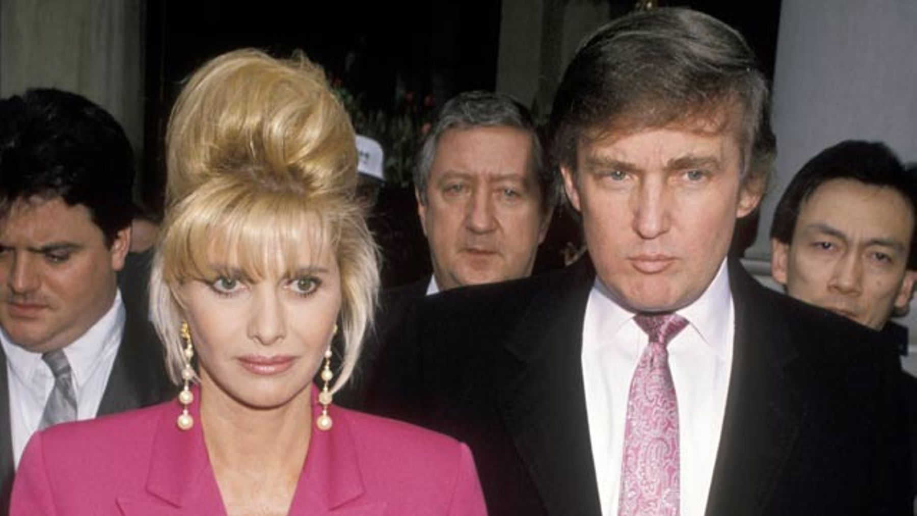 Ivana And Donald Trump Wedding 1977.Ivana Trump Starts Feud With Melania By Calling Herself The Real