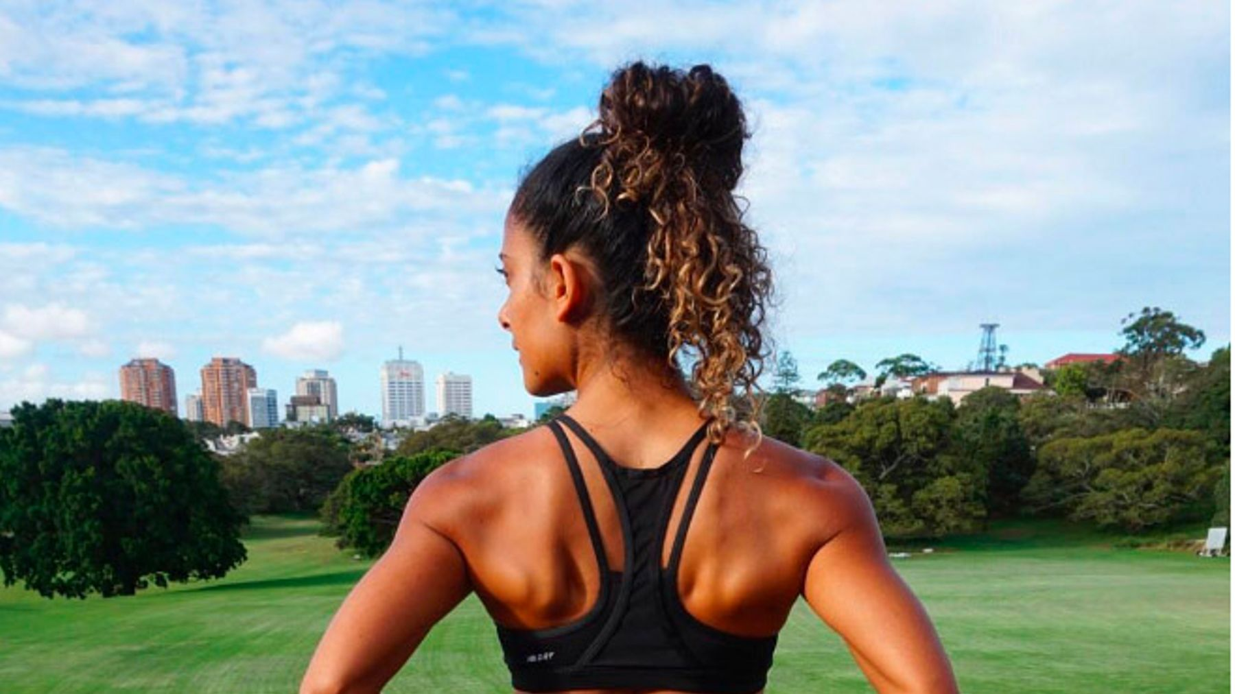 Shona Vertue On the Importance Of A Strong Back Now It's