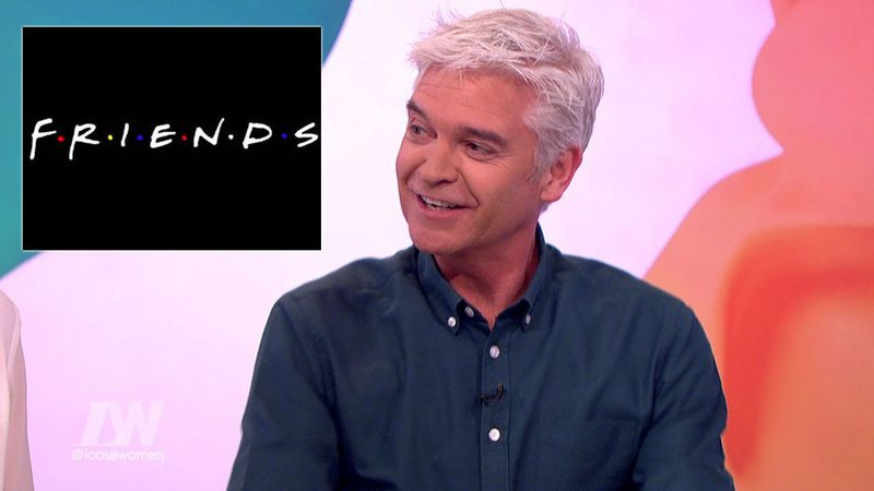 Phillip Schofield CONFIRMS he was in episode of Friends