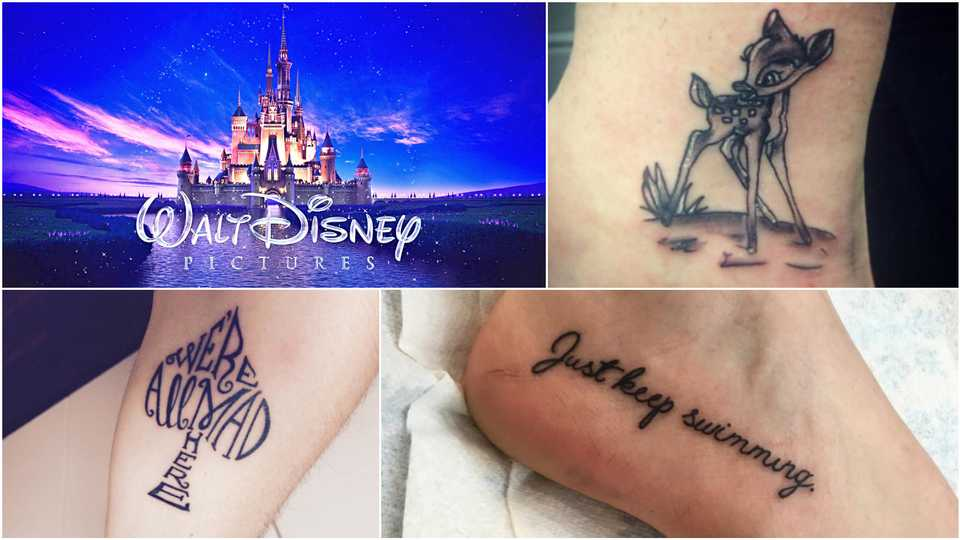 Worst Disney Tattoos: Disney: The 25 Cutest Tattoos Inspired By The Films