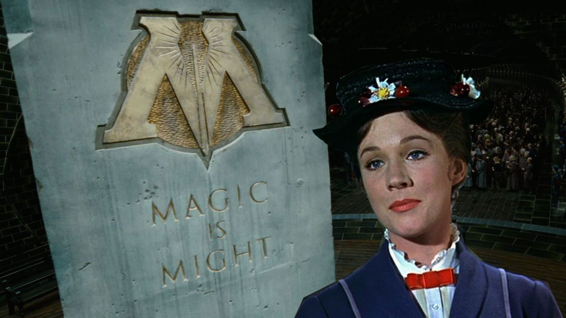 Harry Potter fans, Mary Poppins apparently worked for The Ministry