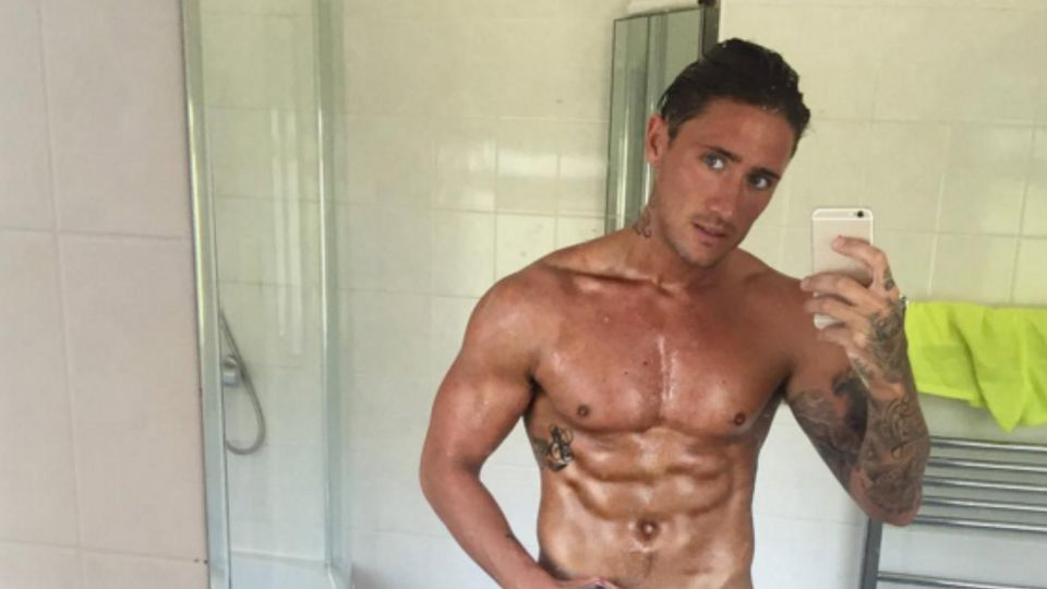 CBBs Stephen Bear gets NAKED on Skype - and you can see