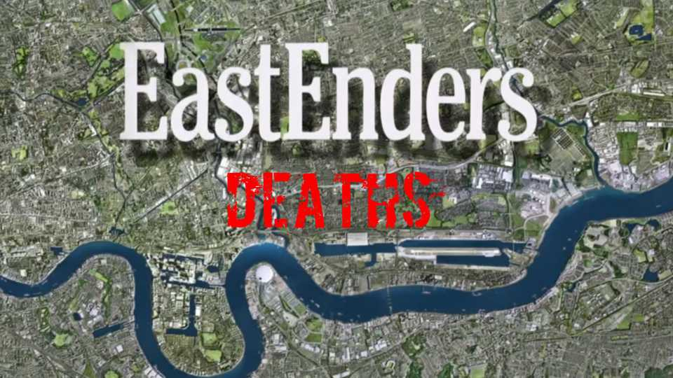 Eastenders Death Map 35 of the most shocking, heart breaking and dramatic EastEnders