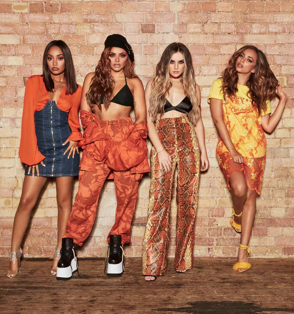 Little Mix And Cnco S Reggaetón Lento S Here Entertainment Heat