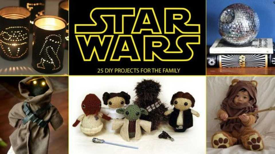 Star Wars Diy Projects Fantastic Crafts For You And The Family Closer