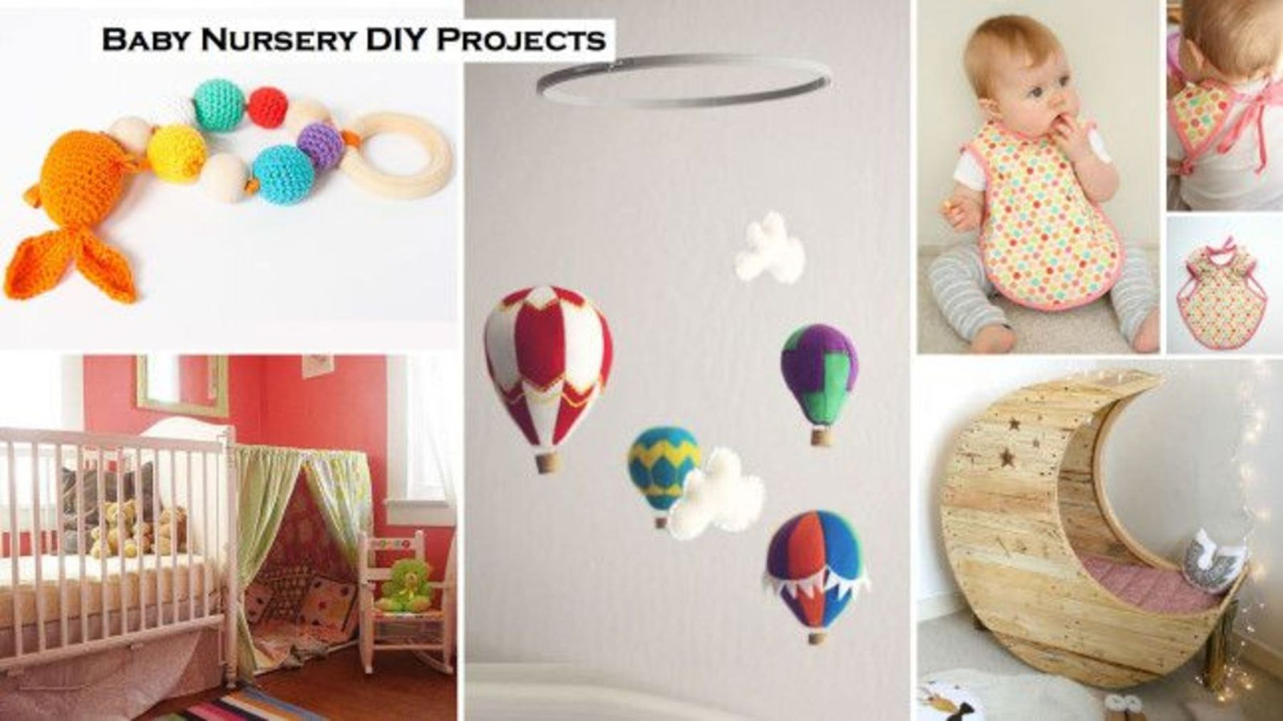 getting ready for a baby: 22 diy projects to craft for your