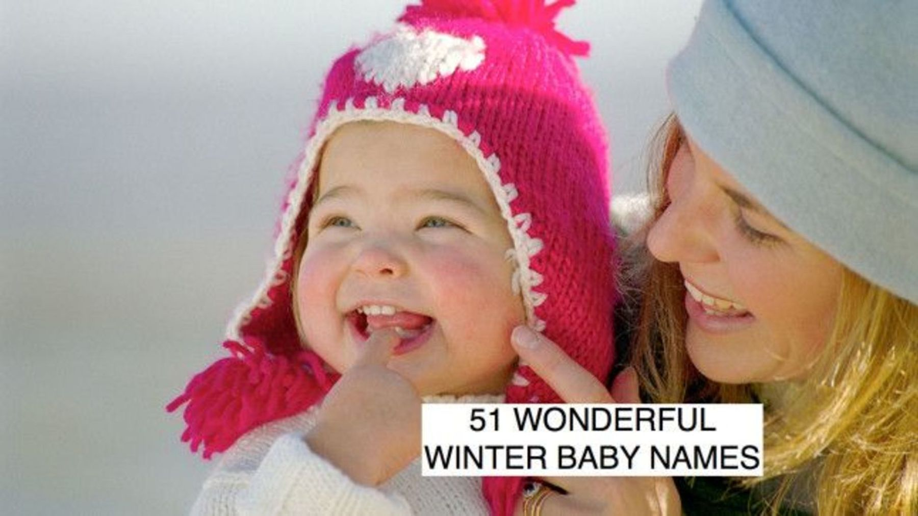 Winter baby names: 51 beautiful wintry baby names - and
