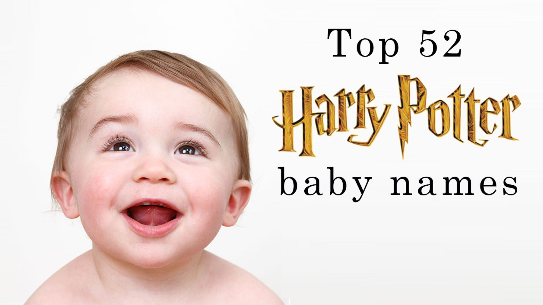 Baby name inspiration: Top 52 Harry Potter baby names - and their
