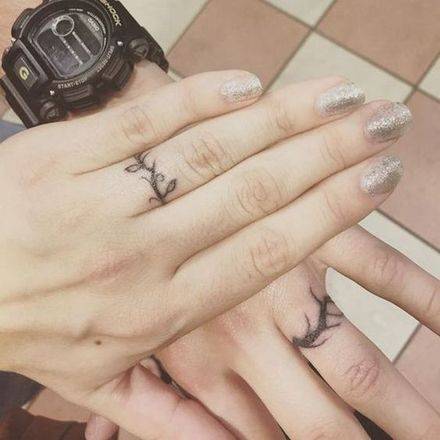 21 Wedding Ring Tattoo Ideas Ideas For Your Never Ending Love Story Closer