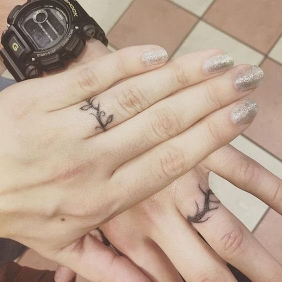 Wedding Ring Tattoos.21 Wedding Ring Tattoo Ideas Ideas For Your Never Ending Love Story